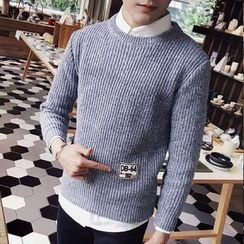 DUKESEDAN - Ribbed Knit Sweater
