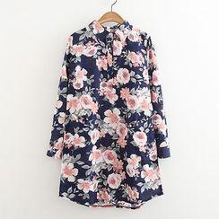 ninna nanna - 花花襯衫裙
