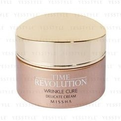 Missha - Time Revolution Wrinkle Cure Delicate Cream