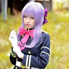 Ghost Cos Wigs - Seraph of the End Hiiragi Shinoa Cosplay Wig