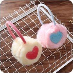 Desu - Heart Ear Warmers