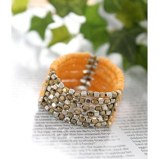 Petit et Belle - Multi-Row Beaded Bracelet
