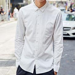 Maykor Jane - Plain Long-Sleeve Shirt