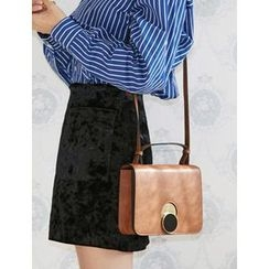 FROMBEGINNING - Faux-Leather Satchel