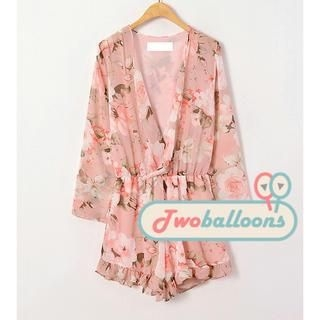 JVL - Floral Playsuit