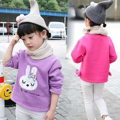 Merry Go Round - Kids Rabbit Applique Pullover