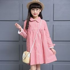 Pegasus - Kids Striped Shirtdress