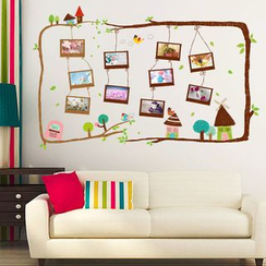 LESIGN - Photo Frame Wall Sticker