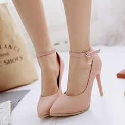Pastel Pairs - 踝带高跟鞋