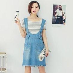 Tokyo Fashion - Denim Jumper Skirt