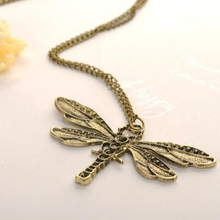 Fit-to-Kill - Trendy Dragonfly Necklace
