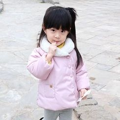 CUBS - Kids Snap Button Padded Coat