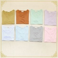 Fairyland - Plain V-Neck T-Shirt