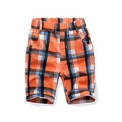 WellKids - Kids Plaid Shorts