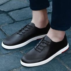 Muyu - Lace-Up Casual Shoes