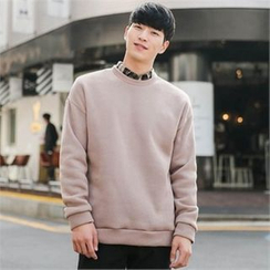 STYLEMAN - Colored Fleece-Lined T-Shirt