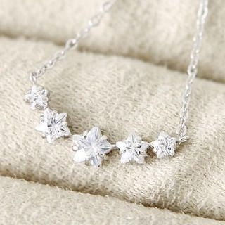 MURATI - Jeweled Stars Necklace