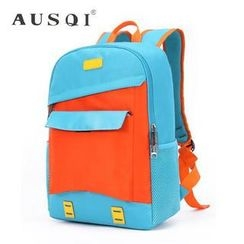 Ausqi - Kids Color-Block Backpack