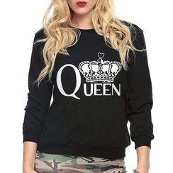 Rebecca - Print Sweatshirt