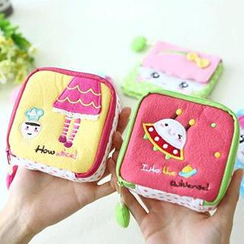 Class 302 - Cartoon Sanitary Pad Pouch