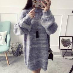 Qimi - Mélange Knit Dress