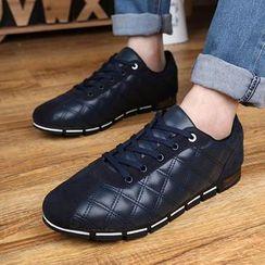 Easy Steps - 菱格系带鞋