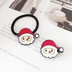 Aokuna - Christmas Santa Hair Tie / Hair Clip