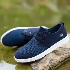 Artree - Mesh Panel Casual Shoes