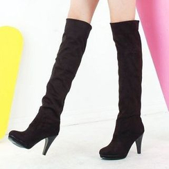 Pangmama - Heeled Over-the-Knee Boots