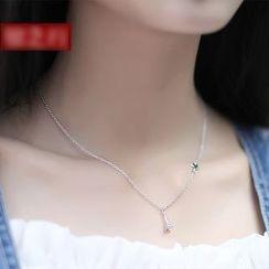 Sylvion - Eiffel Tower Pendant Necklace