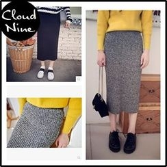 Cloud Nine - Knit Midi Skirt