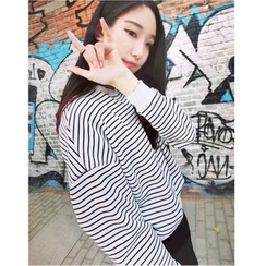 Oaksa - Striped Pullover