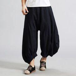 Sparrow Farm - 纯色宽腿长裤