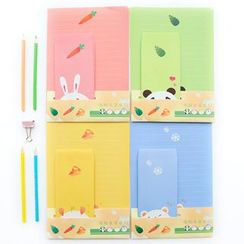 Class 302 - Animal Print Letter Set