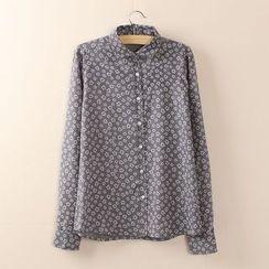 Tangi - Butterfly Print Shirt