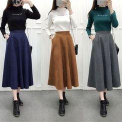 OGAWA - A-line Midi Skirt