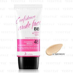 LadyKin - Confidence Nude Face BB Cream SPF 45 PA++ (#02 Yellow Beige)