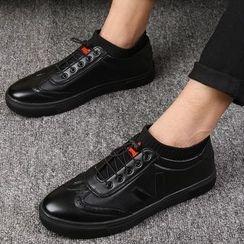 MARTUCCI - 針織邊休閒鞋