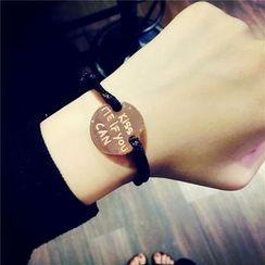 Bingle - Lettering Bracelet