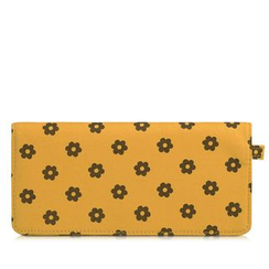 SUPER LOVER - Floral Print Long Wallet