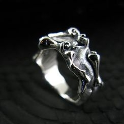 Sterlingworth - Embossed Sterling Silver Ring