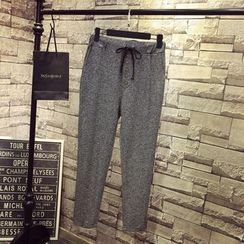 QLand - Drawstring-Waist Pants