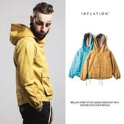 Newin - Plain Hooded Jacket