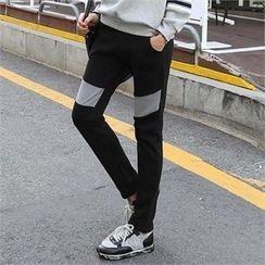 CHICFOX - Fleece-Lined Sweatpants