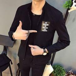 百高 - 字母貼布繡外套