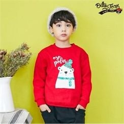 BILLY JEAN - Kids Brushed Fleece Lined Printed Pullover