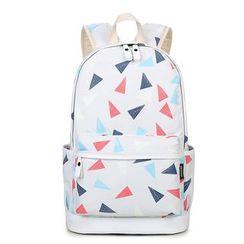 VIVA - Triangle Print Backpack