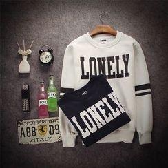 Esflow - Letter Sweatshirt