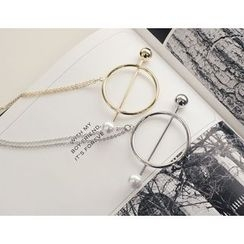 DANI LOVE - Circle-Shape Necklace