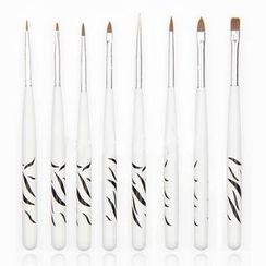 Beautrend - Manicure Painting Brush Set (8pcs)